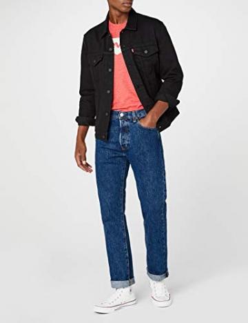 Levi'S 501 Original Straight Fit, Jeans Uomo, Blu (Stonewash 0114), W42/L32 - 2