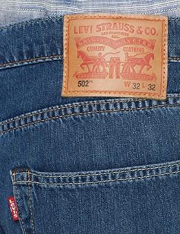 Levi's 502 Regular Taper, Jeans Straight Uomo, Blu (Franklin LTWT Warp 0120), W31/L32 (Taglia Produttore: 31/32) - 1