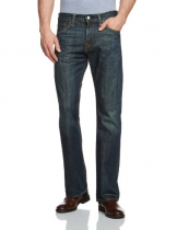 Levi's 527 Slim Boot Cut Jeans Uomo, Blu (Dusty Black 0015) 36W / 30L - 1
