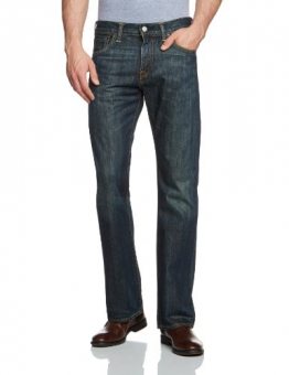 Levi's 527 Slim Boot Cut Jeans Uomo, Blu (Dusty Black 0015) 36W / 30L - 1