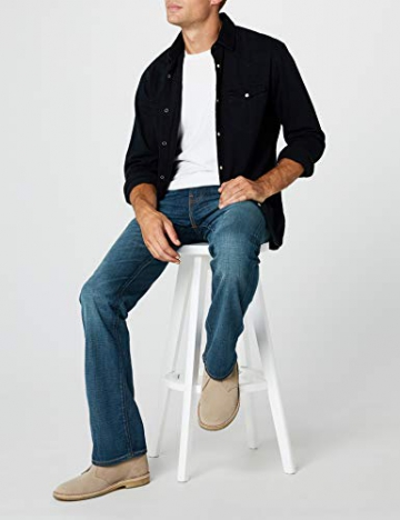 Levi's 527 Slim Boot Cut, Jeans Uomo, Blu (Explorer 0476), 33W / 34L - 4