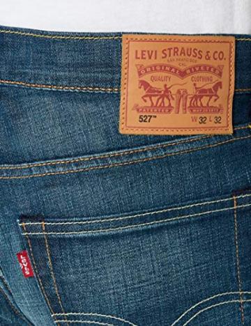 Levi's 527 Slim Boot Cut, Jeans Uomo, Blu (Explorer 0476), 33W / 34L - 5