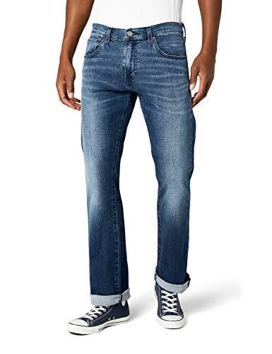 Levi's 527 Slim Boot Cut Jeans Uomo, Blu (If I Were Queen Ltwt 0564) 34W / 30L - 1