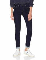 Levi's Shaping Skinny Jeans Donna, Blu (Open Ocean 0103) W30/L30 - 1