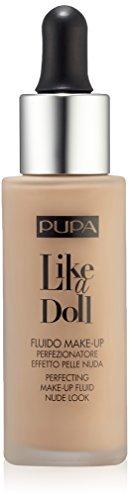 Like a Doll Fondotinta Effetto pelle Nuda Tonalità 030 Natural Beige - 1