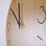 Likeluk Orologio da Parete Vintage, 12 pollici(30cm) Orologio da Parete Silenzioso in Legno Home Decor - 1