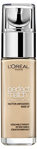 L'Oréal Paris, Accord Parfait, Fondotinta liquido unificante, 3.5.N Pêche, 30 ml - 1