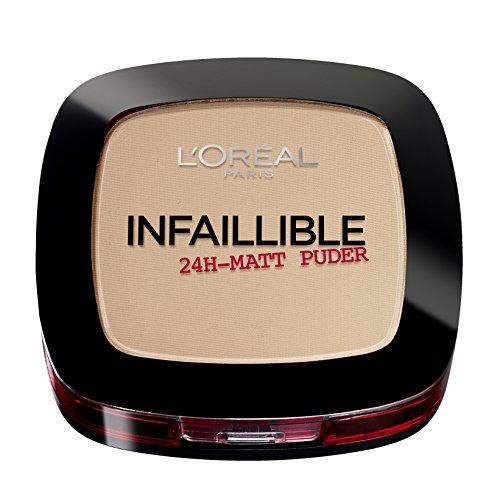 L'Oréal Paris, Cipria Infaillible 24 H, 225, Beige, 1 x 9 g - 1