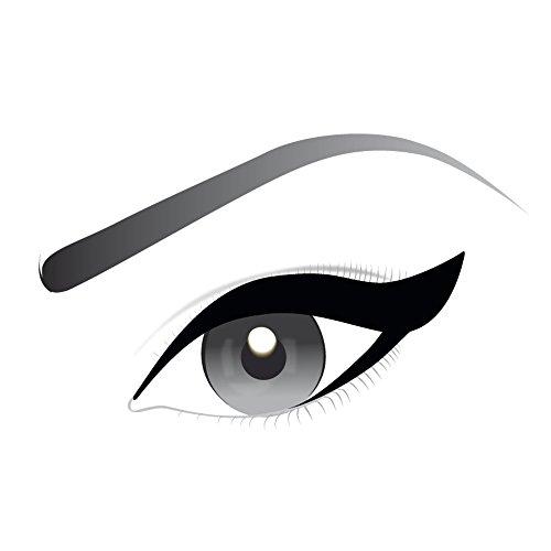 L'Oréal Paris Eyeliner in Gel Super Liner Gel Intenza, Texture in Gel e Tratto Spesso per un Risultato Ottimale, Nero - 1