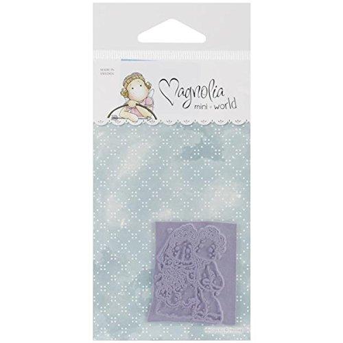 Magnolia in gomma Mini momenti speciali Cling timbro con X 14,6package-vintage sposi - 1