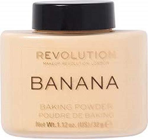 Makeup Revolution Loser Cipria–Luxury Banana Powder, 42G - 1
