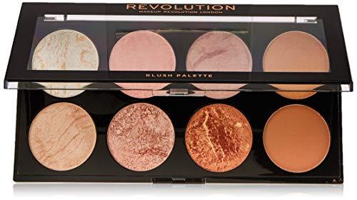 Makeup Revolution Ultra Blush and Contour Palette Golden Sugar - 1