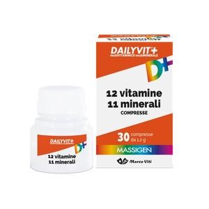 Massigen Dailyvit+ S/zuccheri Multivit. 24 Bustine