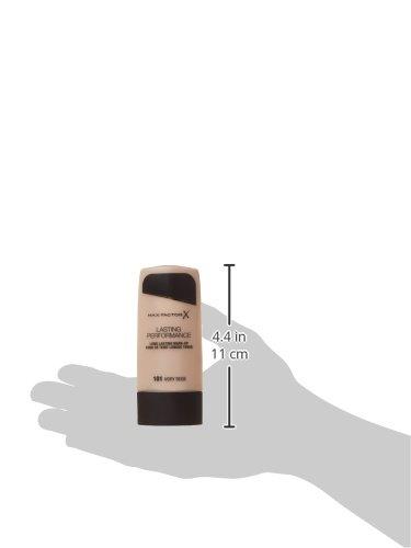 Max Factor Lasting Performance - Fondotinta, colore: Ivory Beige 101, imballaggio può variare - 1