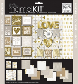 """Me and My Big Ideas Me and My Big Ideas Page Kit 12 cm x 12 cm, con scritta""""Memories"""" - 1"""