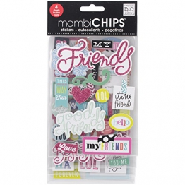 Me & My Big Ideas Chipboard Value Pack-Good Friends - 1