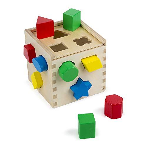 Melissa & Doug - 10575 - Cubo per  Selezione Forme - 1