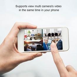 Mini Nascosta Telecamera Bottone AOBO 720P HD Microcamera Spia Portatile Interno/Esterno Wireless Videocamera di Sorveglianza Video Rilevamento di Movimento Batteria Incorporata max 64GB (non inclusa) - 1