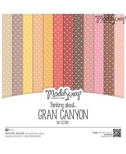 Moda Scrap Set Carta Ms 30x30 Fg.24 Gr.170 Thinking About Grand Canyon - 1