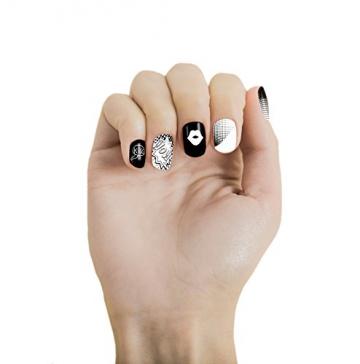 MoYou Nails-Set di 3 Stamping-Smalto: utilizzati per creare bellissimi Nail Art proveniente direttamente dalla fabbricazione-Confezione da 1 - 5