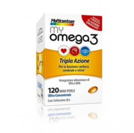 Multicentrum My Omega 3 Integratori 120 Mini Perle