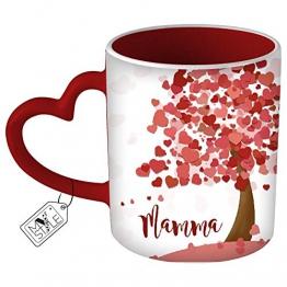 My Custom Style Tazza Cuore Rosso # L'Albero della Mamma# - 1