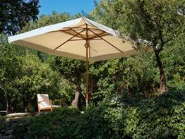 My_Garden Oasis Ombrellone da giardino 3x4 metri Ecrù - 1