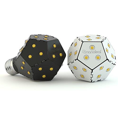 Nanoleaf One 1200WN - Lampadina LED con diffusione di 360°, 1.200 lumen, 10 W, attacco E27 bulbo singolo bianco - 1