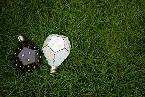 Nanoleaf One–800–Design lampadina LED dimmerabili con molto alta efficienza [a + +, 850lumen | E27| 11LED | 360° | 7,5W = 60W | durata: 30.000ore | 3000K emissione] - 1