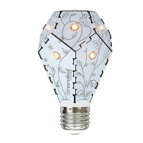 Nanoleaf Smart Ivy Light, E27, 7.5W, Arctic foglia - 1