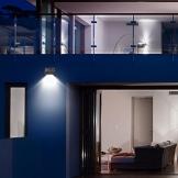 Neloodony Luci Solari, Lampade Solari da Esterno 28 LED con Sensore di Movimento Illuminazione, Luci Wireless di Sicurezza Resistenti all'Acqua per Parete, Giardino,Patio, Ponte, Cortile (2 Pack) - 1