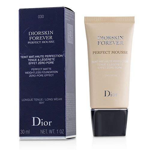 # New Dior Diorskin Forever Perfect mousse–perfetto effetto opaco senza peso fondotinta zero-pore 030Medium beige - 1
