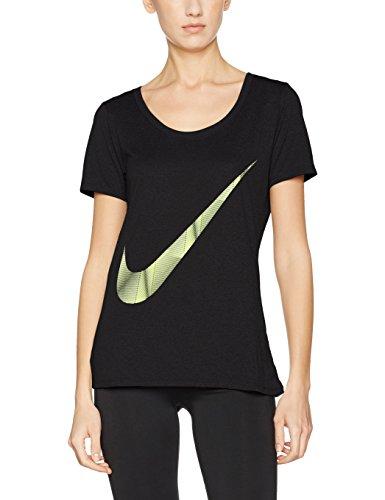 Nike W Nk Dry Tee Leg Pyram Swsh, T-Shirt da Donna - 1