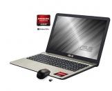 Notebook Asus, Cpu Amd A6 2.6 GHz, Display da 15,6 pollici Led,  Radeon R4, Hdd da 500 Gb, 4Gb ddr4,  Masterizzatore dvdcd rw,  , usb 3.0 e 3.1,Hdmi Wifi bt con O.S. Win 10 Pro 64bit pronto all'uso - 1