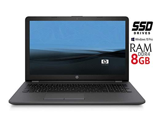 Notebook HP 255 G6 SSD da 240GB CPU Amd 7 Gen. con scheda grafica Radeon, Memoria 8 GB di RAM, SSD DA 240GB, Display 15.6 HD antiriflesso LED, Windows 10 Pro, Pronto all'uso, Garanzia Italiana - 1
