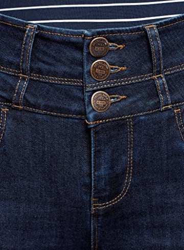 oodji Ultra Donna Jeans Skinny a Vita Alta