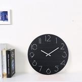 Orologi da Parete, CT-Tribe 12 Pollici(30cm) Legno Orologi da parete Retro Vintage Silenzioso di Lancetta dei Orologi da parete - 1