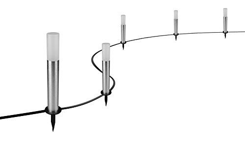 Osram Smart+ Gardenpole RGBW, Picchetti LED Zigbee da Giardino, Kit Base - 1