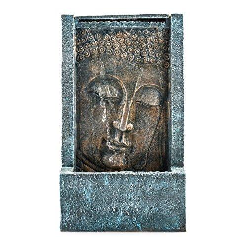 Pajoma 43107.0 - Fontana in poliresina per interni con Buddha Tashima, illuminazione a LED, 48 cm - 1