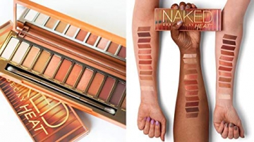 PALETTE DE FARDS À PAUPIÈRES URBAN DECAY NAKED HEAT - 2