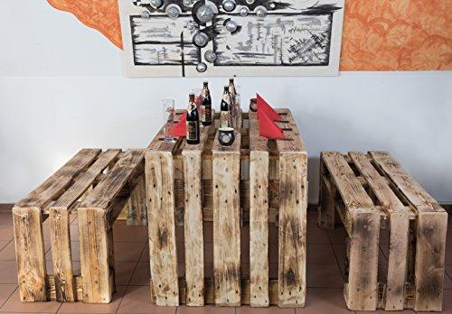 Palette Mobili, mobili da giardino in euro pallet, seduta di gruppo - 1