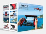 Parrot Bebop Drone + Skycontroller - Rosso