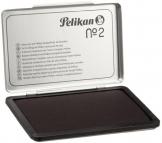Pelikan 331777 Cuscinetti per Timbri, N.2 Metallo, 7 x 11, Nero - 1