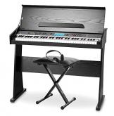 Pianoforte digitale FunKey DP-61, incluso supporto, panchetta e cuffie - 1