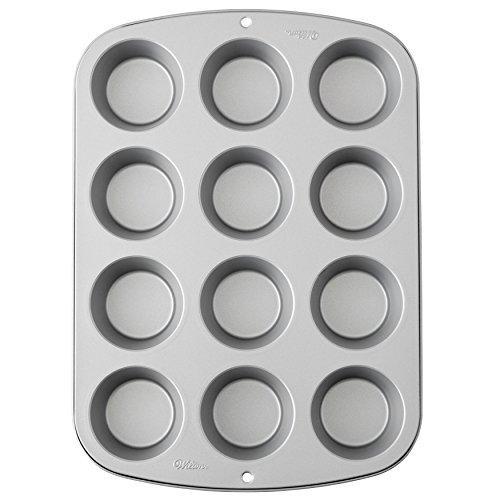 Piastra antiaderente per 12 muffin - 1