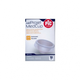 Pic Solution Airprojet Medcup Sfere Portamed 10 Pz