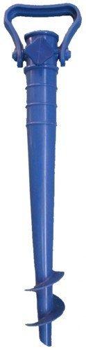 Picchetto Puntale in ABS per Ombrellone da Spiaggia 42 cm Colori Assortiti - 1