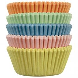 PME BC723 Pirottini per Cupcake e Muffin Piccoli, Multicolore, 100 unità - 1