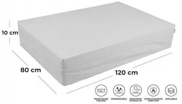 pomodone Cuscino per Pallet 120x80cm in Tessuto Verdone - 5