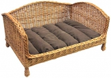 Prestige Wicker Pet divano letto con cuscino, Media - 1
